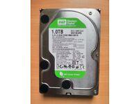 Western Digital Caviar Green 1TB 3.5in SATA II Hard Drive for Desktop PC WD10EARS