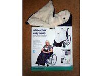 GOOD CONDITION - Wheelchair Cozy Wrap