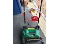Qualtcast 32cm 400W cylinder lawn mower (23L) for sale in almost mint condition