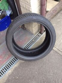 FULLRUN TYRE BRAND NEW NEVER FITTED 19 INCH 245 X 35ZR