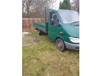 Mercedes pick up 05 plate