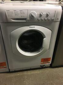 HOTPOINT HE8L493P Washing Machine - White