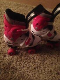 Roller skate adjustable size 3-5