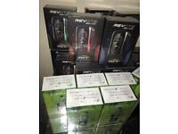 REV GTS & E Leaf Mod Box Vape/Vaping E-Cig Brand New All Colours Available