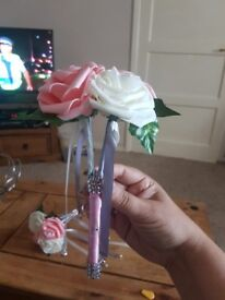 Bridesmaid wands made to orded