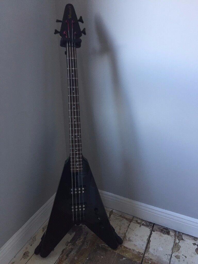 Flying V bass Guitar