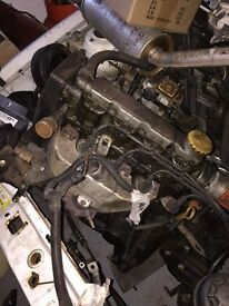 Astra 1996 1.4 Engine & Gearbox Complete