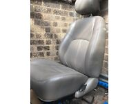 Front Leather seats - fits vw transporter beige cream