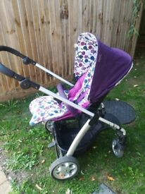 Mama's and Papa's Sola pushchair - Plum
