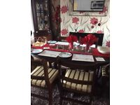 Lovely Hudson oval Dining table for 6