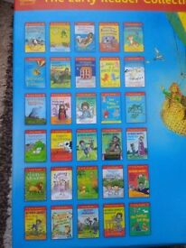 30 Early Reader Book Set, Colour illustrations perfect for summer holiday reading.