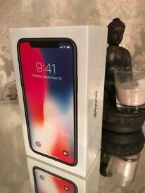 Apple iPhone X 256gb Space Grey unlocked brand new sealed sim free