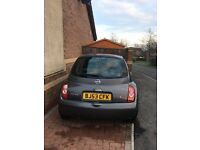 Automatic Nissan micra/ grey