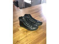 Converse All Stars Black Boots kids size 12