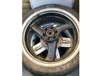 RS Aprillia and Honda and other motor bike wheels al £10 each