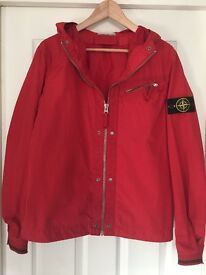 Stone Island Jacket - Red, lightweight, summer, softshell