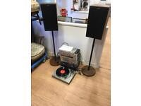 Panasonic music system turntable etc