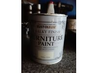 Rust-Oleum Chalky Finish Wood Furniture Paint Smooth Matt