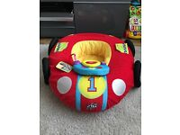 Inflatable baby car ring