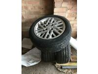 Ford cosworth alloy wheels