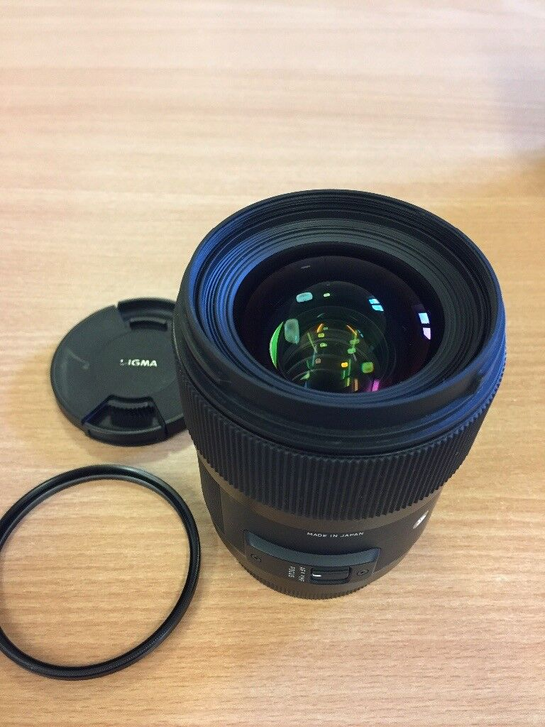 Sigma 35mm F14 Dg Hsm Art Lens For Canon In Falmouth Cornwall I