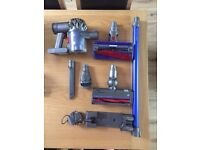 Dyson V6 Fluffy Plus Cordless - All Accessories Included