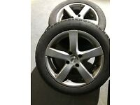 Winter Tyres on Alloy Rims to fit a Citroen C4 201/55R16