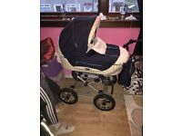 Babystyle bouncing pram Pushchair new Condition