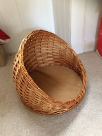 New Wicker Cat Bed, Small Dog Bed, Pet Bed