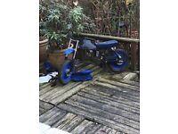 Pit bike/monkey bike frame