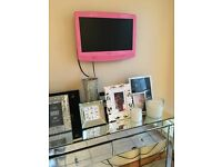"19""PINK WALL MOUNT ONLY TV"