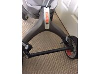 Stokke Xplory-cross bar adaptor for buggy board-can post
