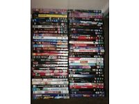 Big selection of DVDs