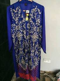 New Blue Kurta