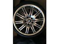 Genuine Staggered BMW M3 ALLOYS 19""
