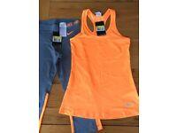 Small Nike Gym Set- Capri leggings & Racer vest. £20
