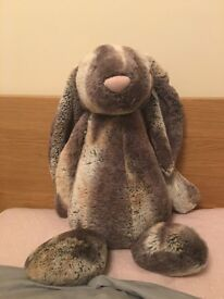 *NEW* PERFECT CONDITION HUGE BASHFUL COTTONTAIL JELLYCAT BUNNY