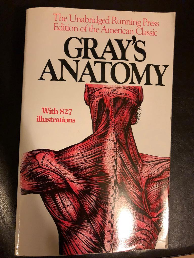 GRAY\'S ANATOMY medicine book | in West Drayton, London | Gumtree