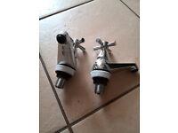 basin taps (pair) bbb