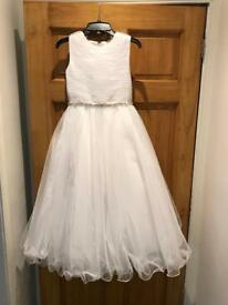 Joan Calabrese Communion Dress & 2 Tier L B Veil