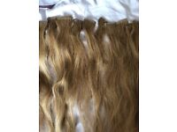 Tape hair extensions 18inch. £80.