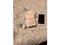 IPhone 7 Plus in Rose Gold, 6 months old, £450, complete with charger, headphone accessory and case