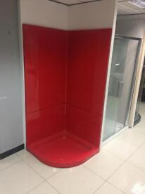 Red leak proof pod and doors