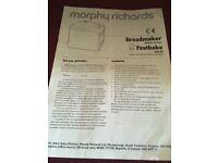 Breadmaker morphs Richards