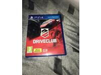 Driverclub game for PS4