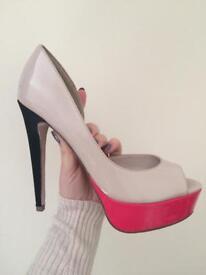 Lipsy stiletto platform shoes