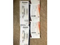 Marti Pellow concert tickets demontfort hall two in row W and two in row U