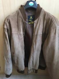 Men's suede jacket XL