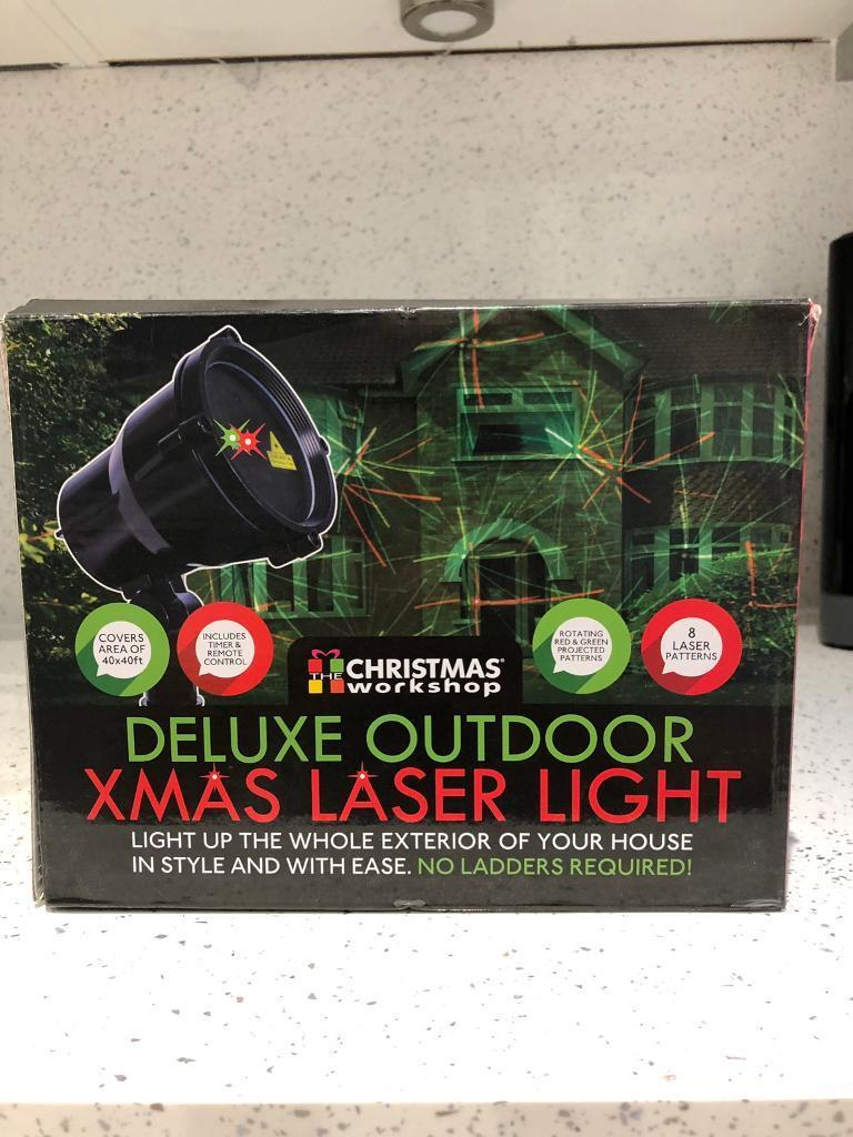premium selection 942c4 ce852 Deluxe outdoor Xmas laser light | in Newport | Gumtree