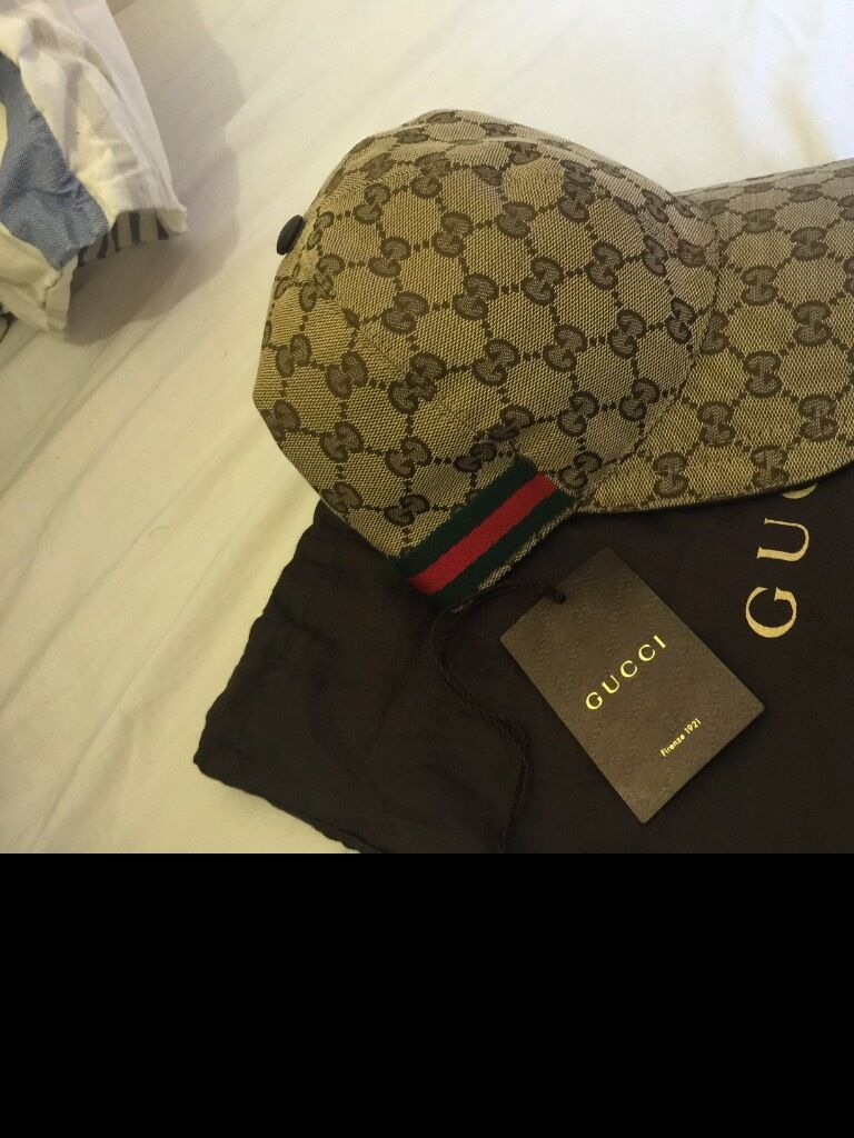 Beige Gucci cap 100% authentic purchased from flannels  2664810ea0a